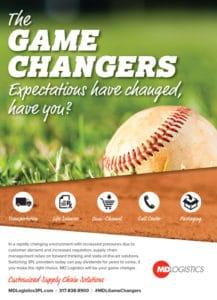 md logistics print advertising homepage portfolio