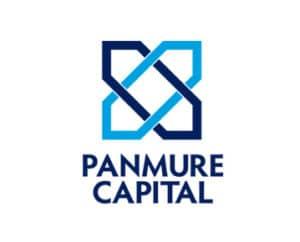 panmure capital logo design homepage portfolio